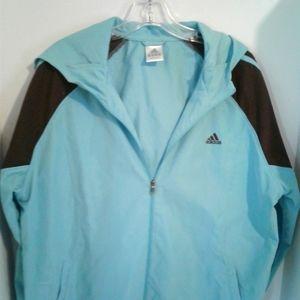 Adidas lightweight running jacket